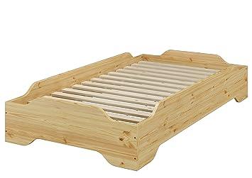 Erst Holz Stapelbett Jugend Bett Designer Bett 90x200 Massivholz