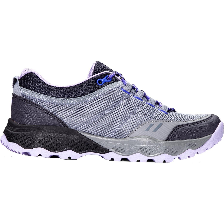 Vionic Women's McKinley Low Top Hiking Shoes Grey Lavender 8 M