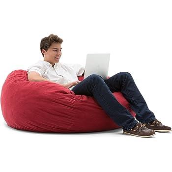 Amazon Com Big Joe Large Fuf Foam Filled Bean Bag Chair