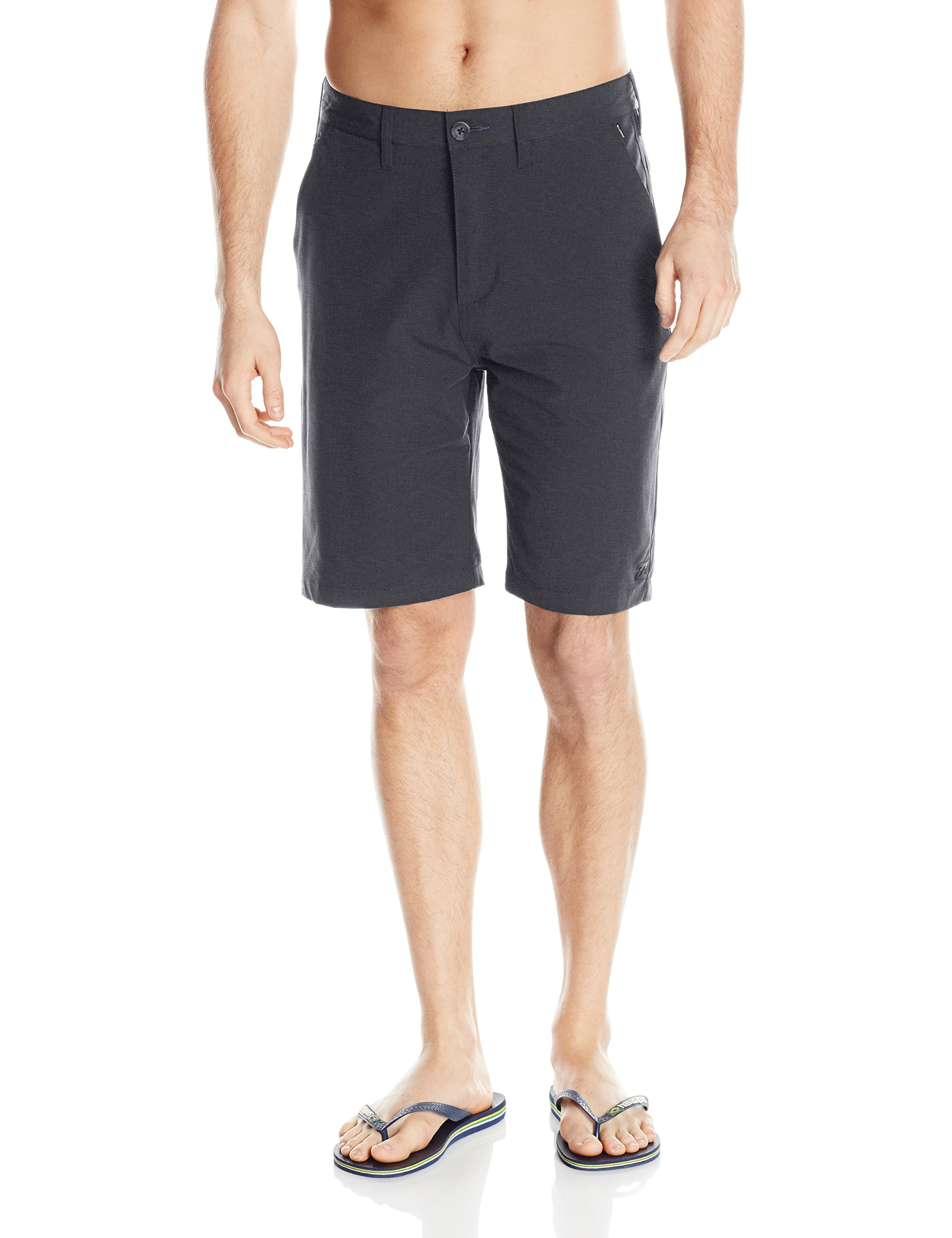 Billabong Men's Classic Hybrid Short, Asphalt, 34