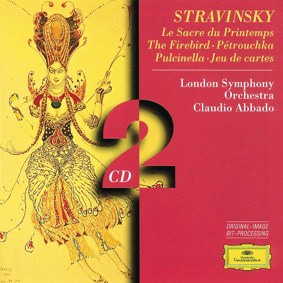 Stravinsky: Le Sacre du printemps (Rite of Spring) / The Firebird / Jeu de cartes / Petrouchka / Pulcinella by CD