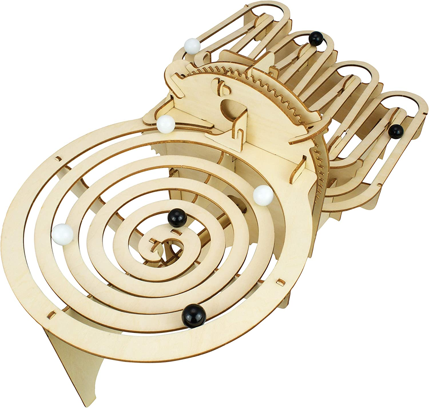Cheatwell Games Engenius Contraptions Marble Run Flat Pack Perpetual Motion