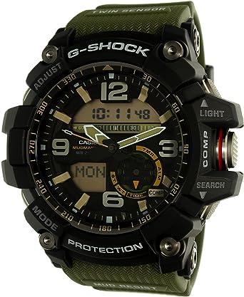 CASIO Reloj Analógico-Digital para Hombre Correa en Resina GG-1000-1A3ER: Amazon.es: Relojes