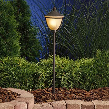 Kichler 15367tzt one light path spread