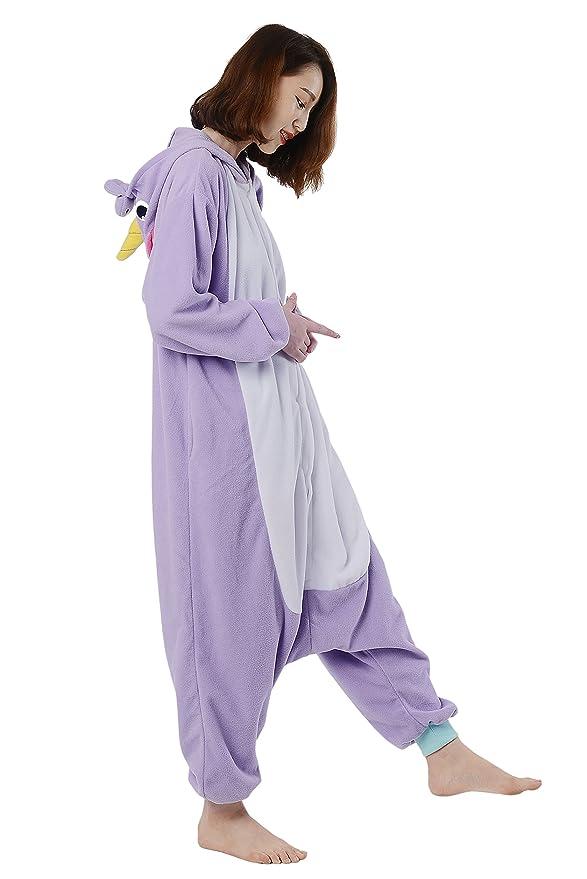 Pijamas Animales Unicornio Mujer Invierno Cosplay Traje Disfraz Adulto: Amazon.es: Ropa y accesorios