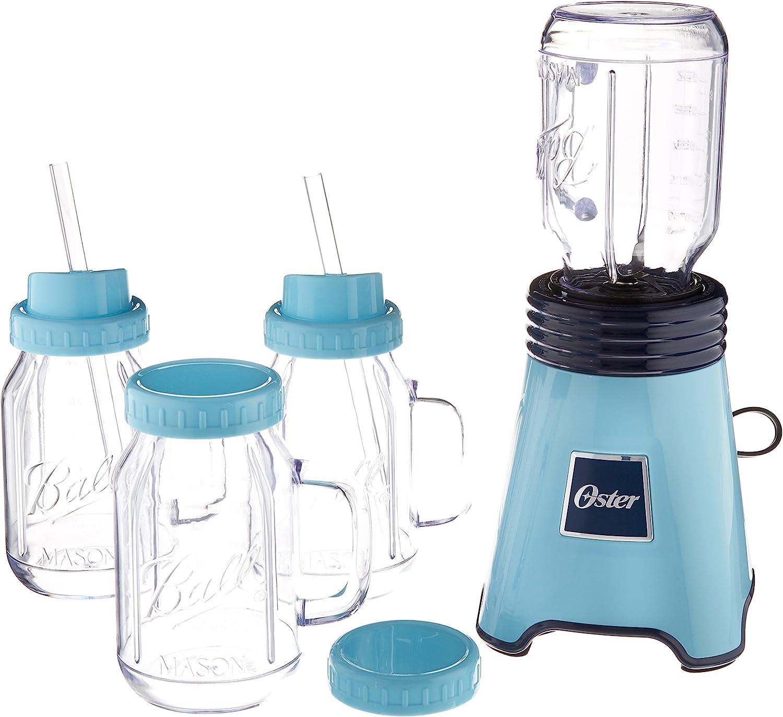 Oster Ball Licuadora personal, azul con taza de mezcla adicional: Amazon.es: Hogar