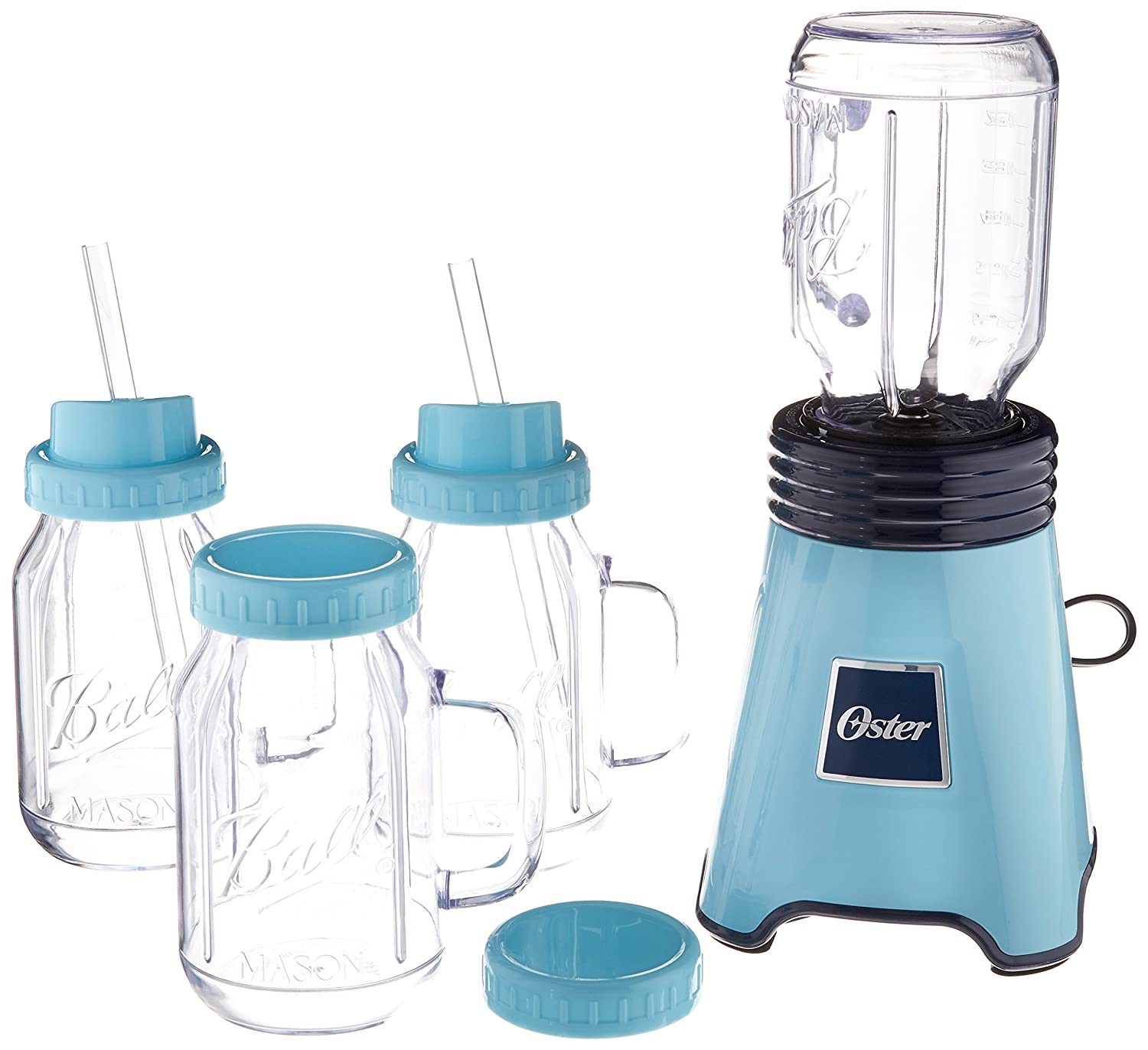 Oster ball personal blender blue with bonus blending cup for Kitchen perfected blender