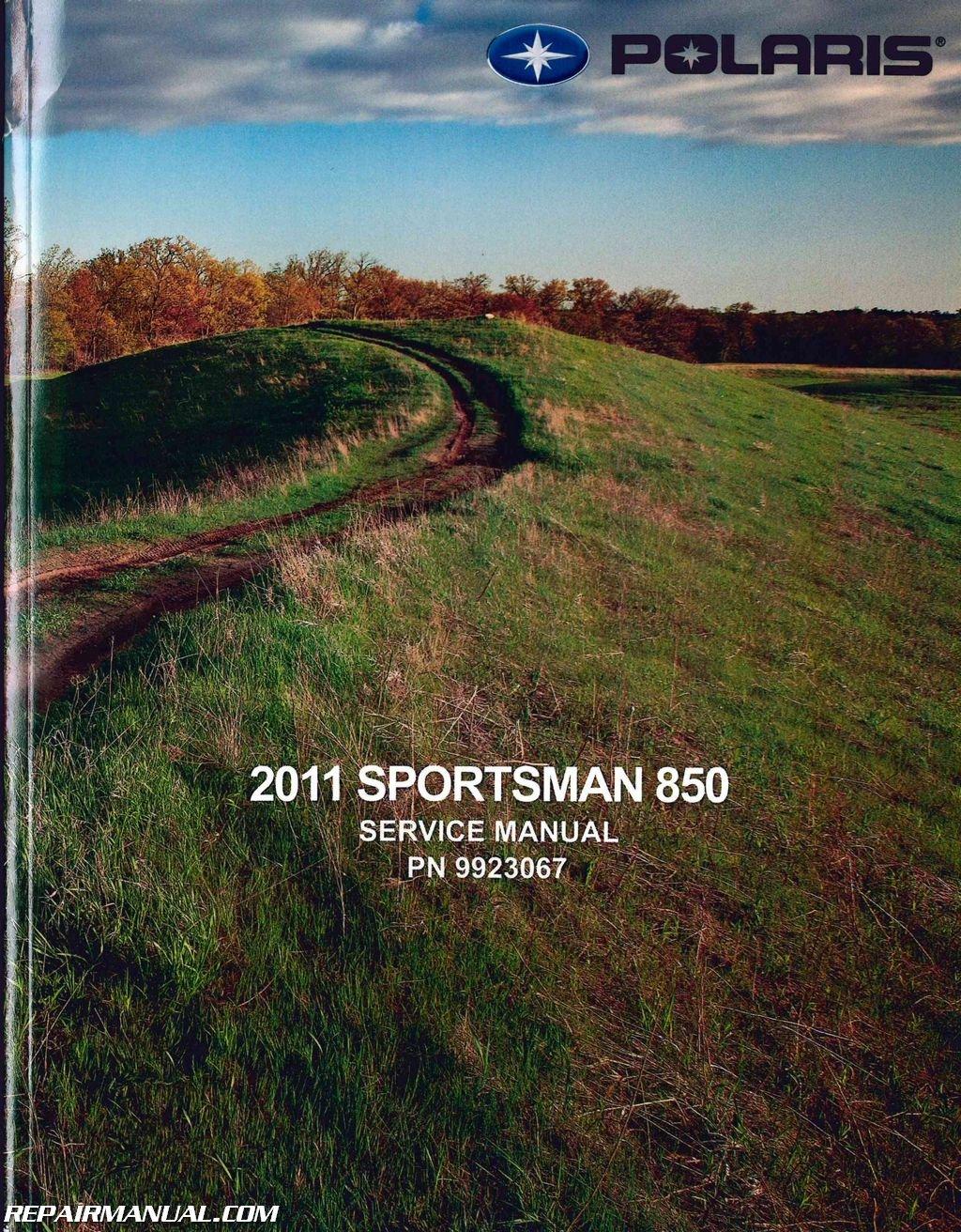9923067 2011 Polaris Sportsman 850 ATV Service Manual: Manufacturer:  Amazon.com: Books