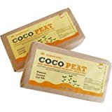 Pioneer Agro Industry Cocopeat/Coit Pith 650g Brick (5kg) - 2 Pieces