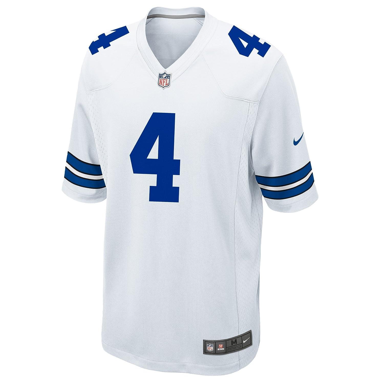 Nike Hombres de la NFL Dallas Cowboys DAK Prescott Jersey - Color blanco 8405d8bacad