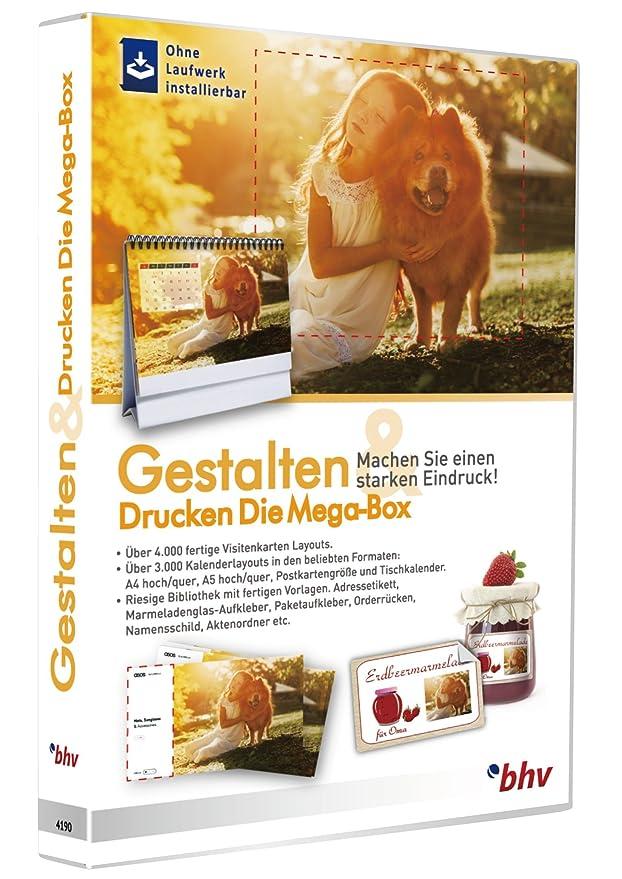 Bhv Gestalten Drucken Die Mega Box Amazon De Software