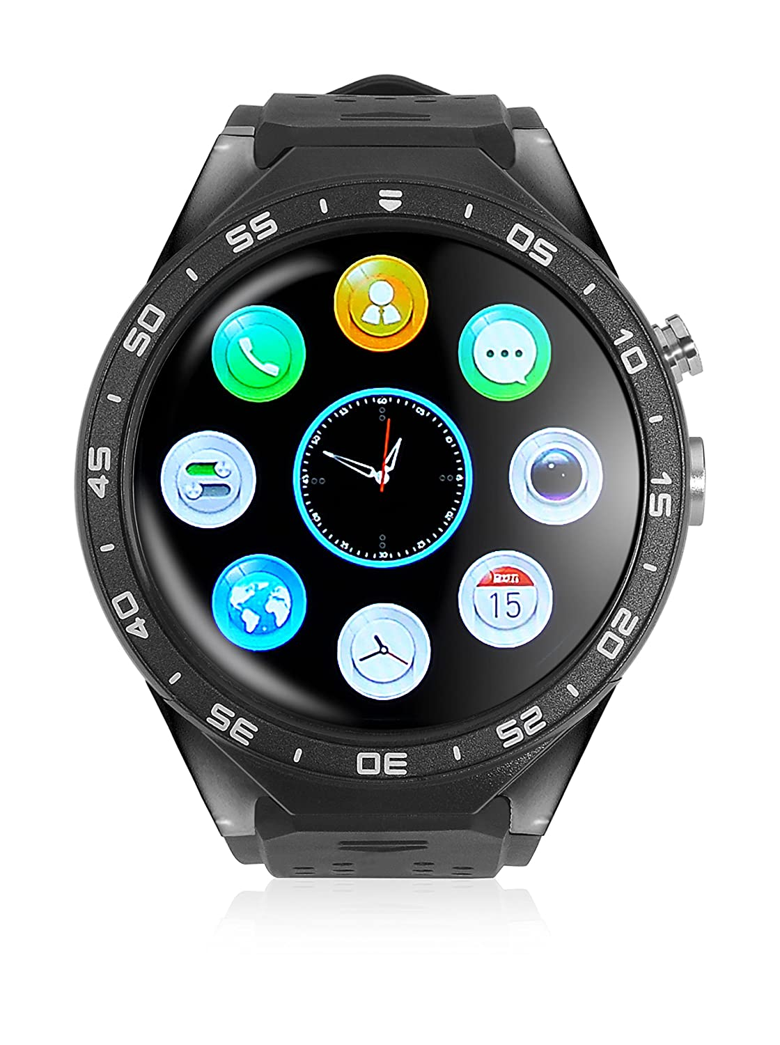 imperii Smartwatch WiFi Amoled HR Negro: Amazon.es: Electrónica