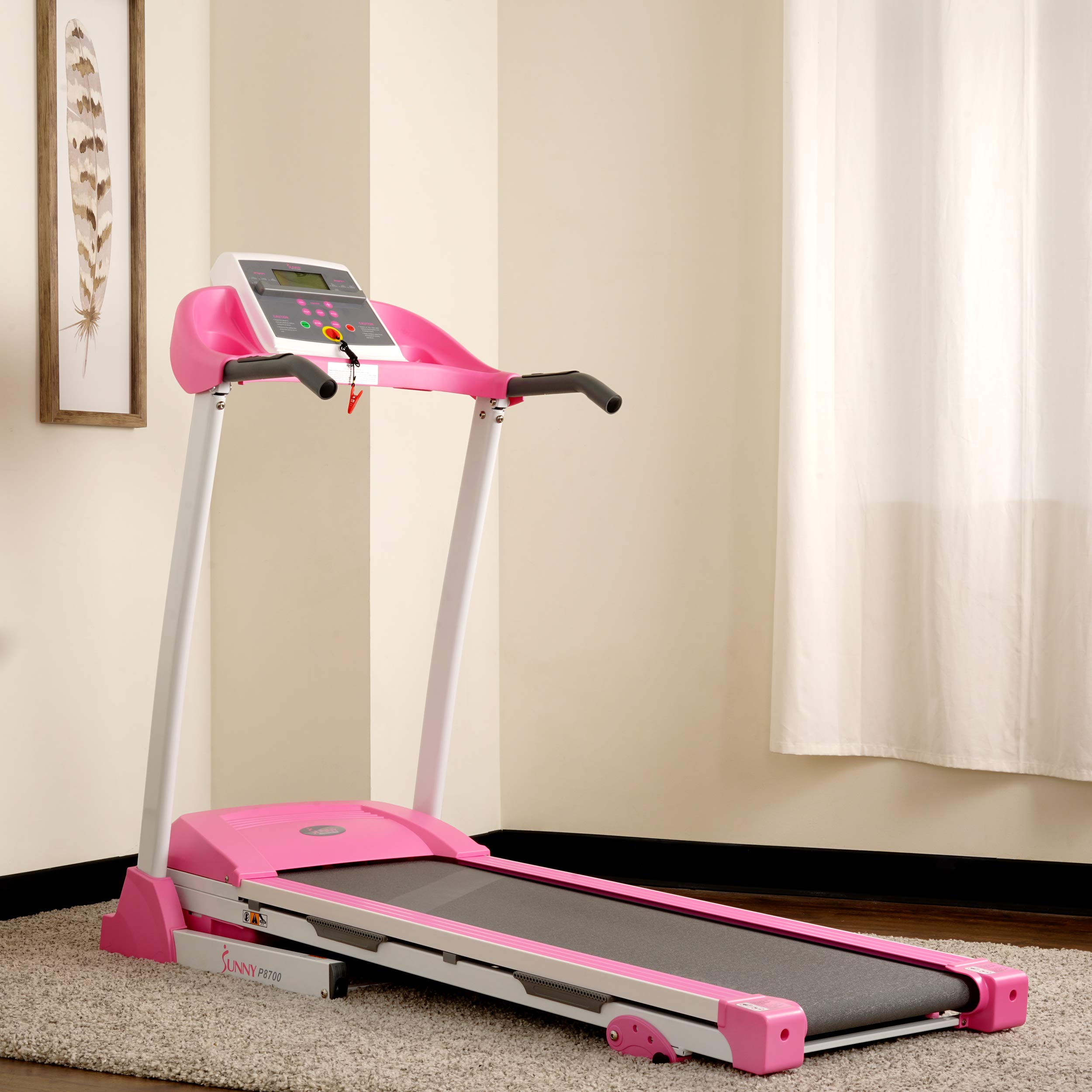 Sunny Health & Fitness P8700 Pink Treadmill by Sunny Health & Fitness (Image #13)