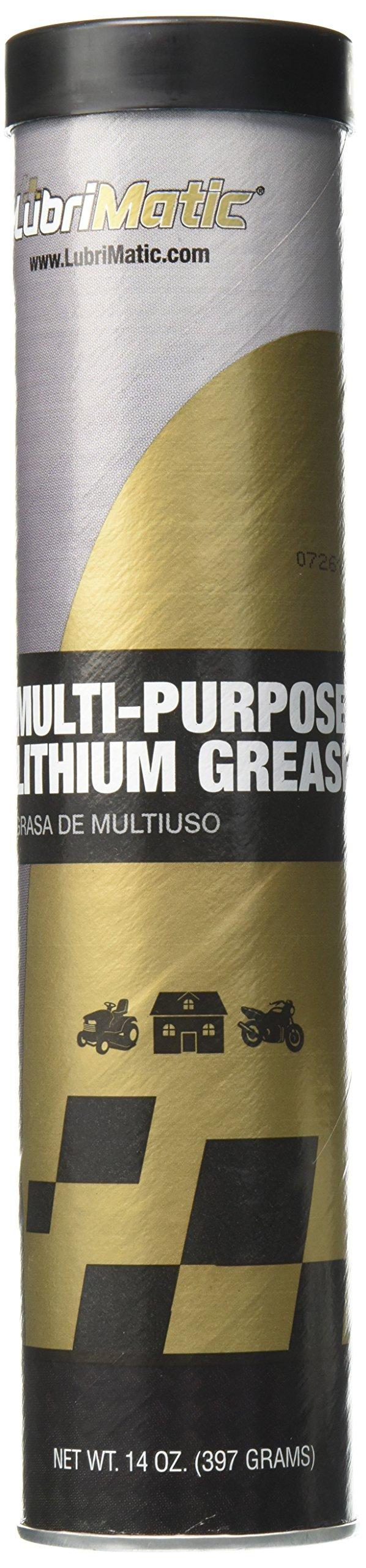 LubriMatic 11315 Multi-Purpose Lithium Grease, 14 oz. Cartridge