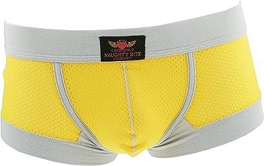 TALLA S. Naughty Bitz Sexy & Snug - Calzoncillos para hombre en 4 colores