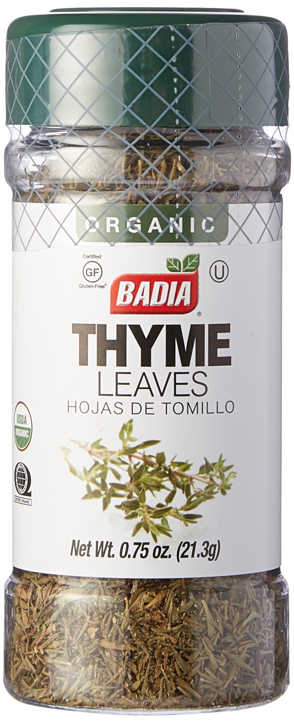Badia Thyme Leaves Organic 0.75 oz