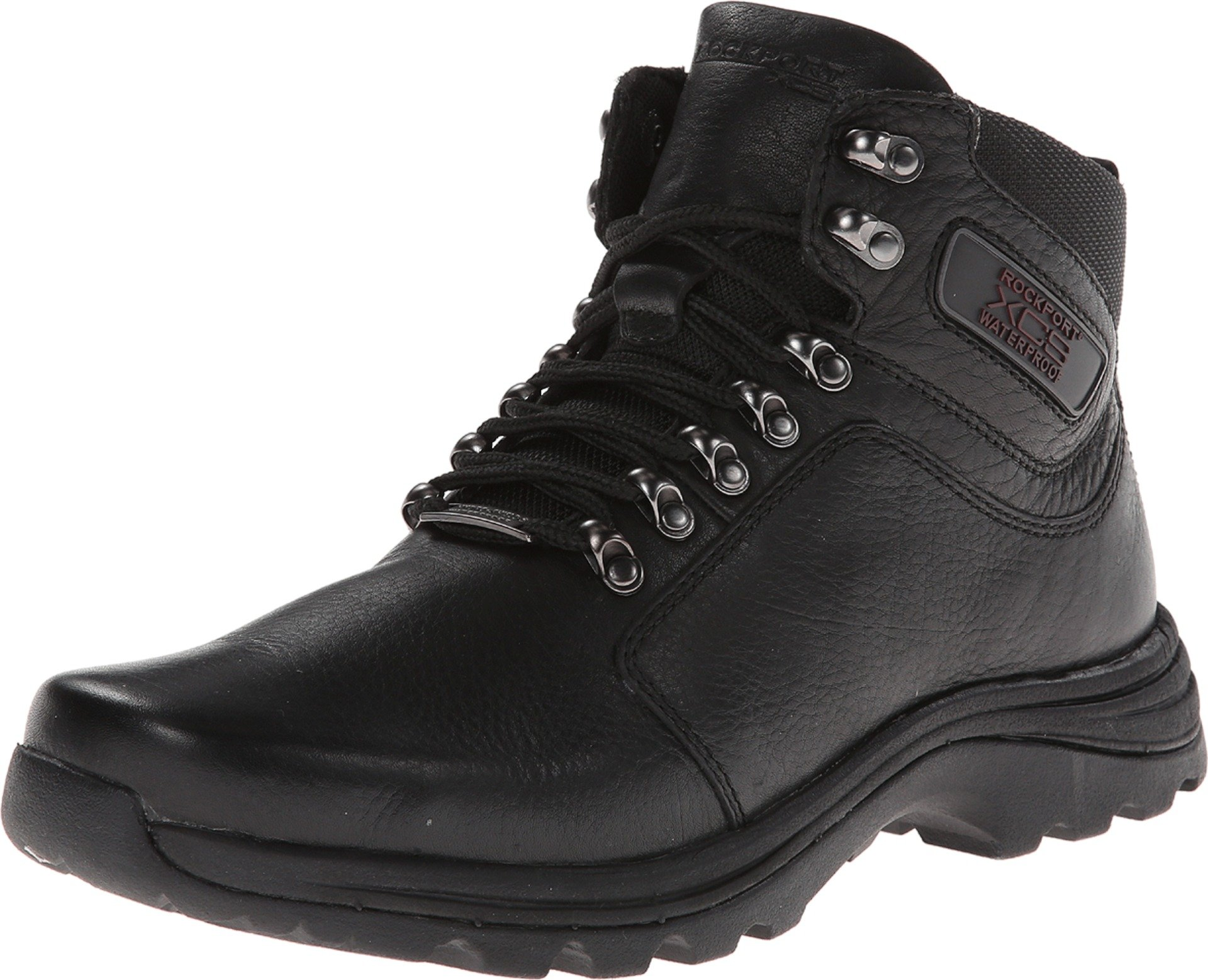 Rockport Men's Elkhart Snow Boot-Black-12 M by Rockport