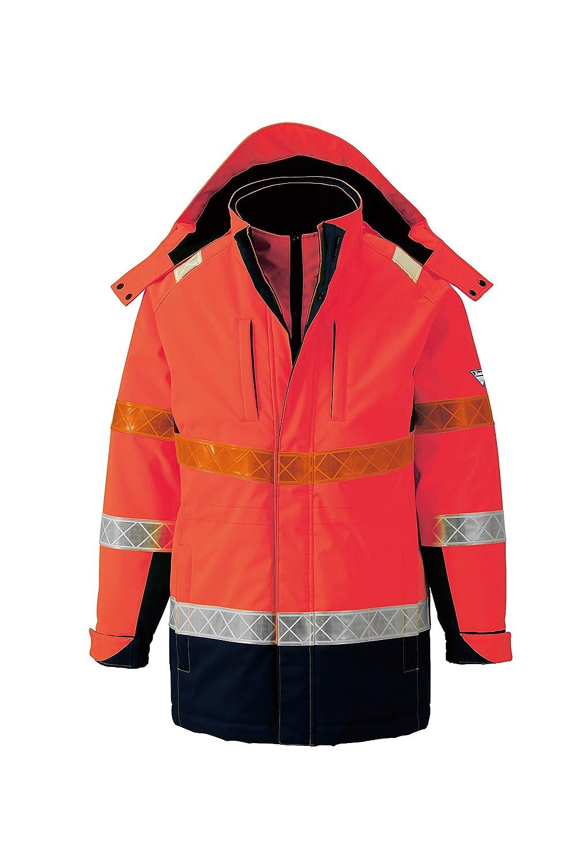 (ジーベック) XEBEC 全天候対応 高視認安全服 防水防寒コート (801-xe) 【M~5Lサイズ展開】 B0163XWD52 EL オレンジ オレンジ EL