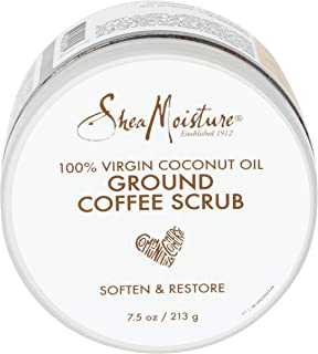 product image for Shea Moisture 100% Virgin Coconut Oil Coffee Scrub, 7.5 Ounce