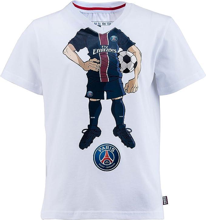 Paris Saint Germain collezione ufficiale Maglietta con motivo ...