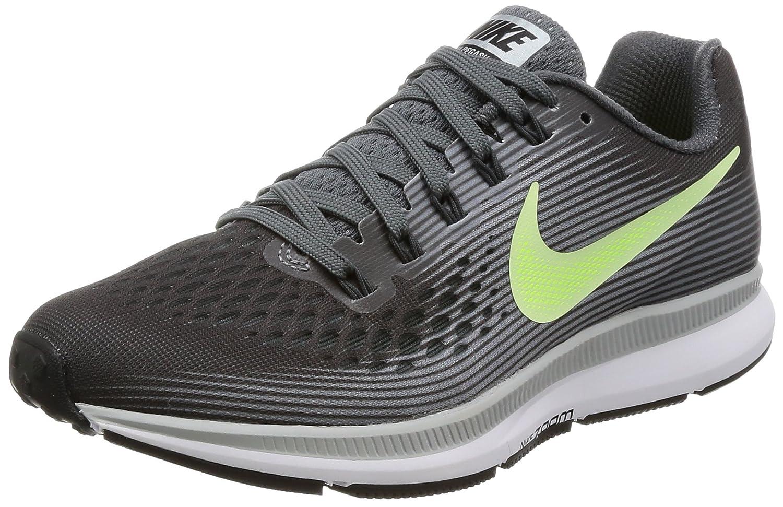 NIKE Women's Air Zoom Pegasus 34 Running Shoe B01N04XPHK 6.5 B(M) US Dark Grey/Barely Volt/Wolf Grey