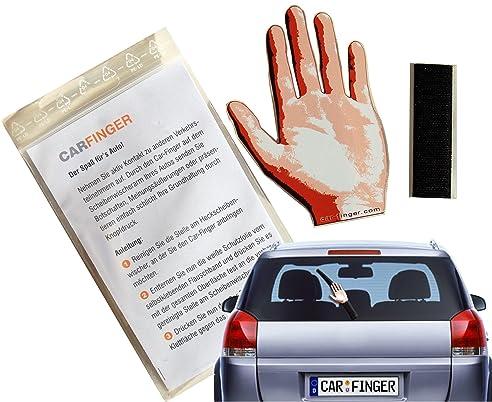 Car Finger Greet , witziges Auto - Zubehör für den Scheibenwischer ...