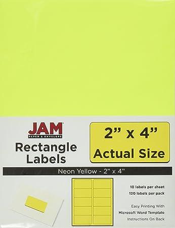 Amazon.Com : Jam Paper Labels - Mailing Address Labels - Medium (2