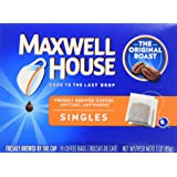 Maxwell House Original Roast Ground Coffee, Single Serve Coffee Bags, 4 Count, 12 Ounce