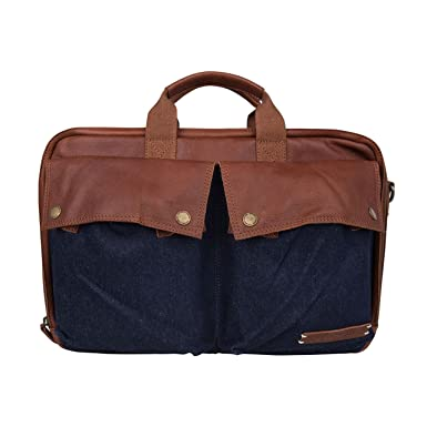 Tasche Laptoptasche Aktentasche LAPTOP BAG HATFIELD 15.6 INCH Armygreen 1922 Cowboysbag DcmDFig