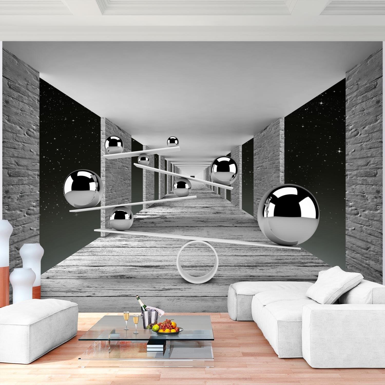 100/% FABRIQU/É EN ALLEMAGNE 9154010c Tapisserie Photo Sph/ère 3D 308 x 220 cm Laine papier peint Salon Chambre Bureau Couloir d/écoration Peinture murale d/écor mural moderne