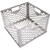 Oklahoma Joe's 5279338P04 Stainless Steel Offset Smoker Charcoal Firebox Basket, Silver