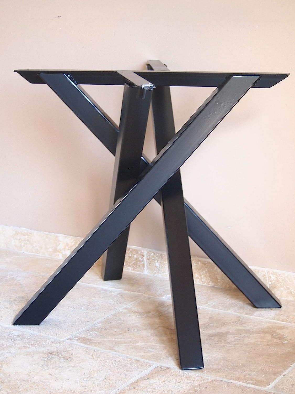 Pied De Table Centrale Forme Mikado En Metal Style Industriel