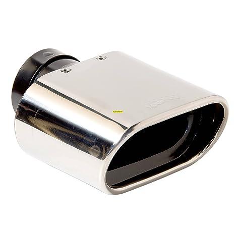 SUMEX 4008075 - Cola Escape Inox Dt m - 2 Salida Rectangular Biselada