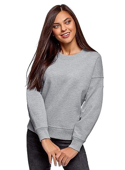 oodji Ultra Mujer Suéter de Algodón con Hombro Caído: Amazon.es: Ropa y accesorios