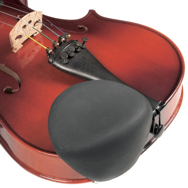 Strad Pad Black Chinrest Pad: Standard Size Sattler BHBU0503A561