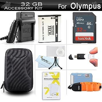 Amazon.com: 32 GB accesorios Kit para cámara digital Olympus ...