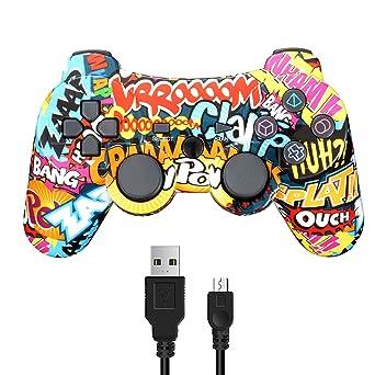 Amazon | Connyam PS3ワイヤレスコントローラー DUALSHOCK3 6軸+ダブル