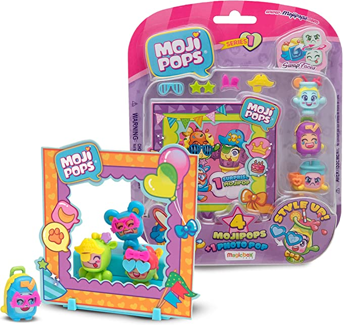 Color Surtido Magic Box PMP1B416IN00 Photo Pop Serie 1 Figuras coleccionables MojiPops