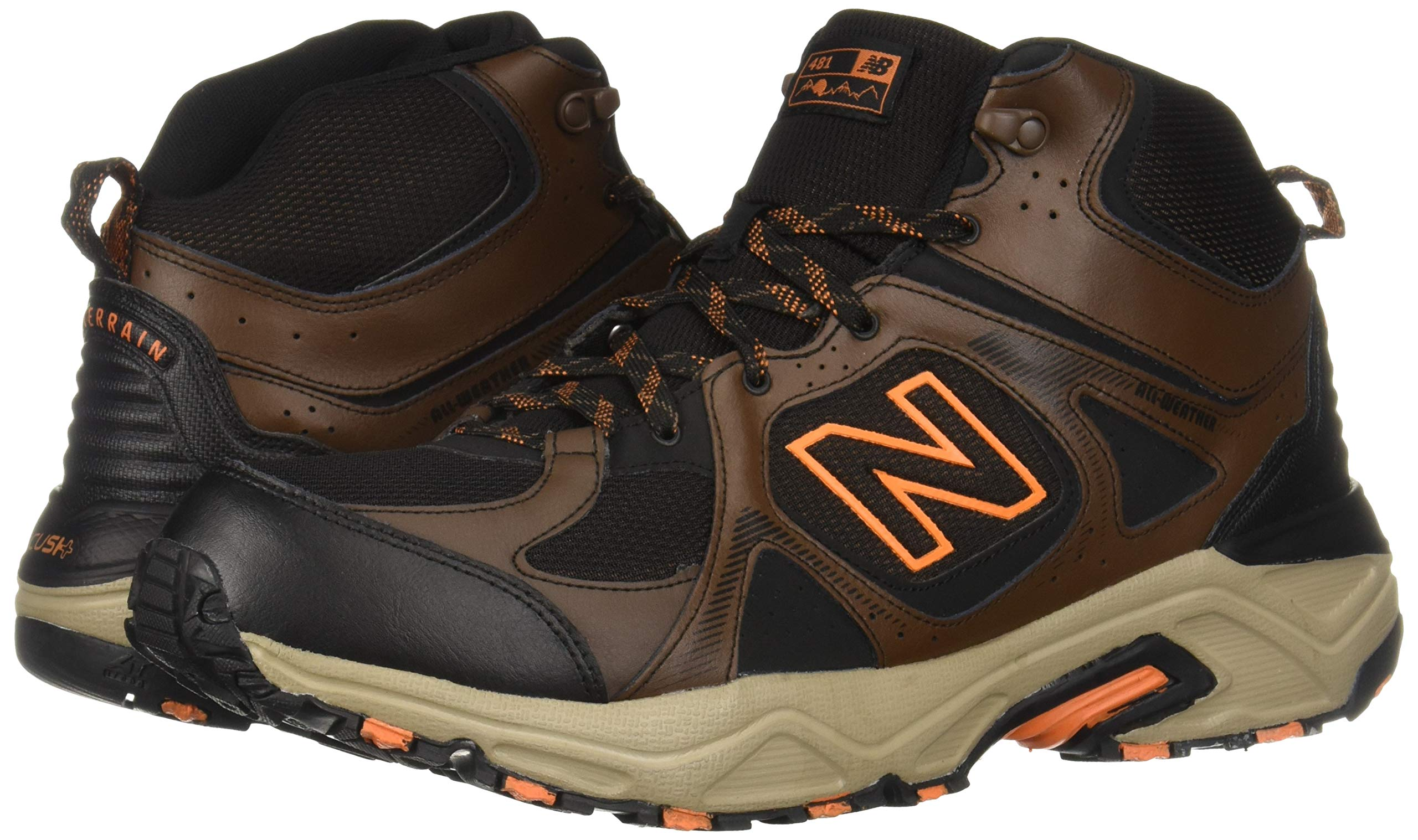New Balance Men's 481 V3 Cushioning Trail Running Shoe Adrift/Black/Mercury 9 D US by New Balance (Image #6)
