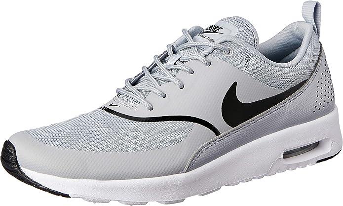 Nike Air Max Thea Sneakers Damen Grau mit schwarzen Streifen