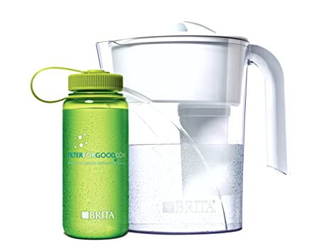 Amazon com | Brita Classic Water Filter Pitcher with 16