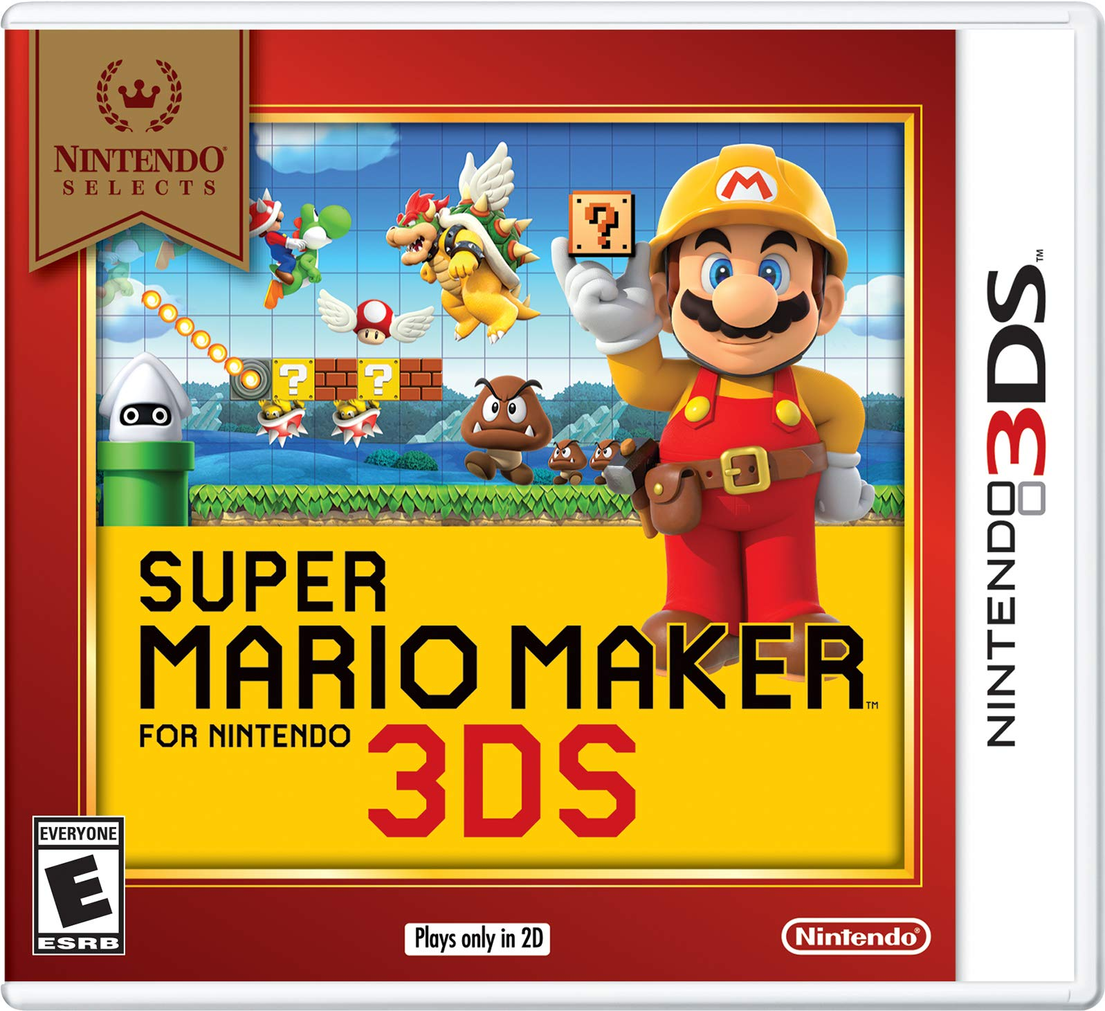Nintendo Selects: Super Mario Maker for Nintendo 3DS – Nintendo 3DS