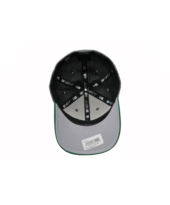 9e3da19d614e2 Amazon.com  New Era 39hirty Hat Santos Laguna Soccer Club Liga MX Oficial  Gray Green Flex Cap  Clothing