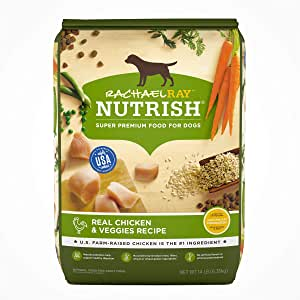 Rachael Ray Nutrish Super Premium Dry Dog Food, Chicken & Veggies Recipe