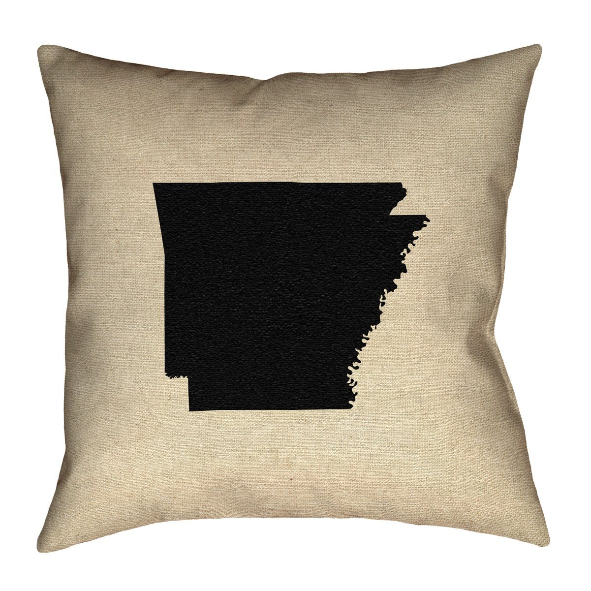 ArtVerse SMI165F3636L Katelyn Smith Arkansas 36 X 36 Floor Pillows Double Sided Print with Concealed Zipper /& Insert Arkansas Pillow