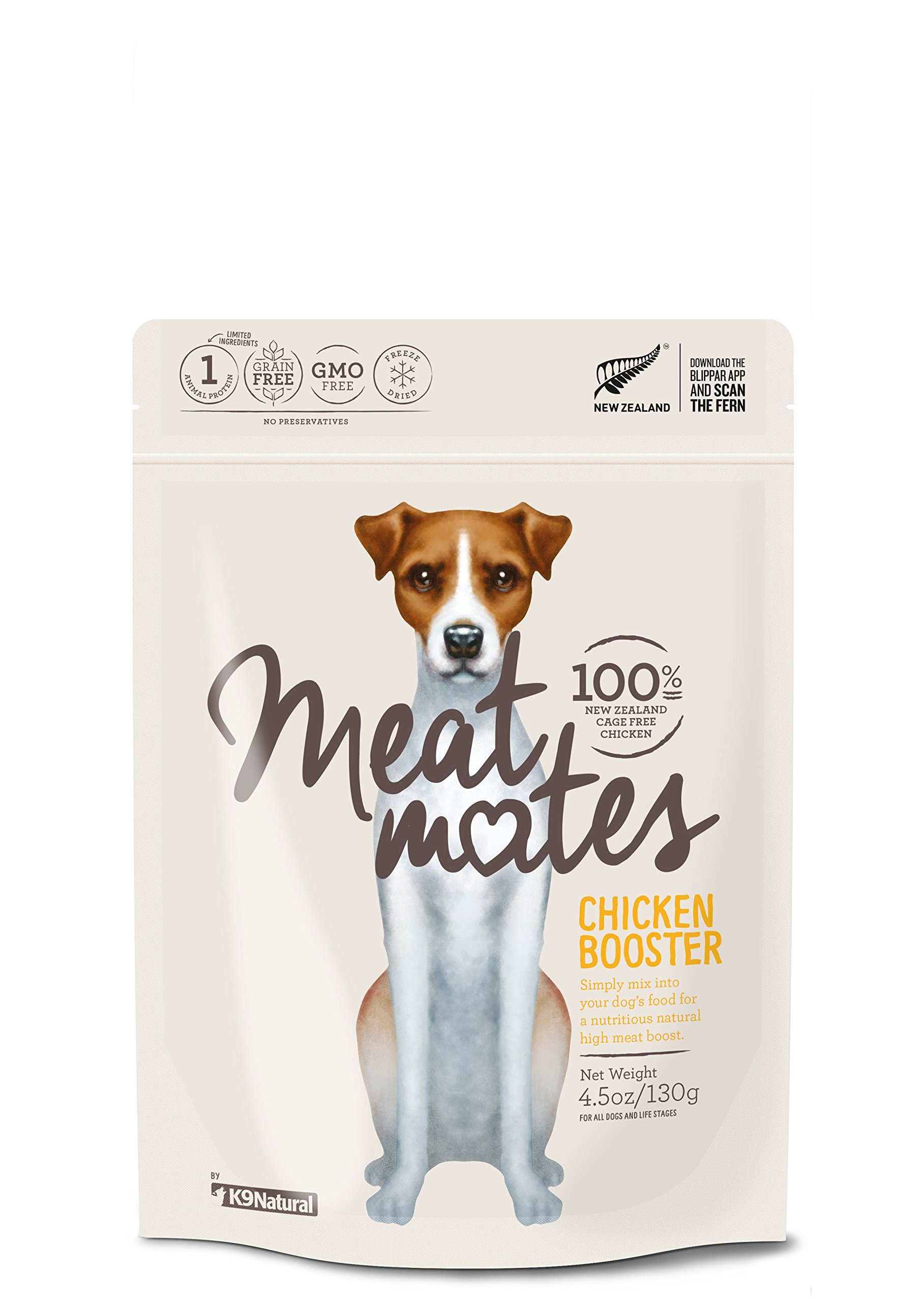 Meat Mates Freeze Dried Booster Chicken 4.5oz