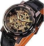Men's Mechanical Elegant Skeleton Hollow Dial Wrist Watch