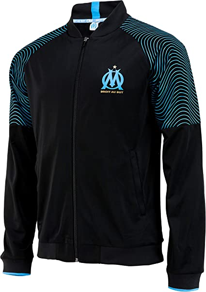Collection Officielle Taille Enfant OLYMPIQUE DE MARSEILLE Veste Om