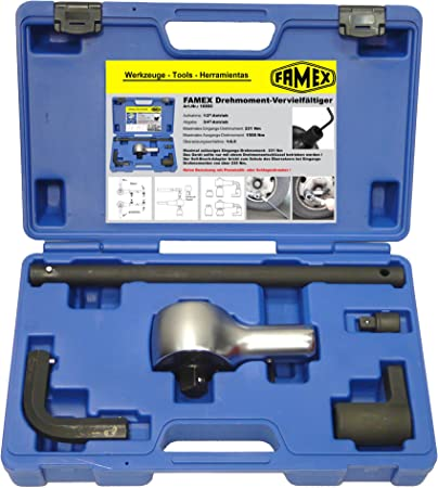 Famex 10850 Drehmoment Vervielfältiger Übersetzer Bis 1500 Nm Baumarkt
