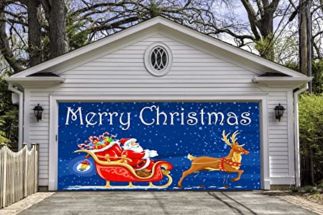 Outdoor Garage Christmas Decorations Wwwindiepediaorg